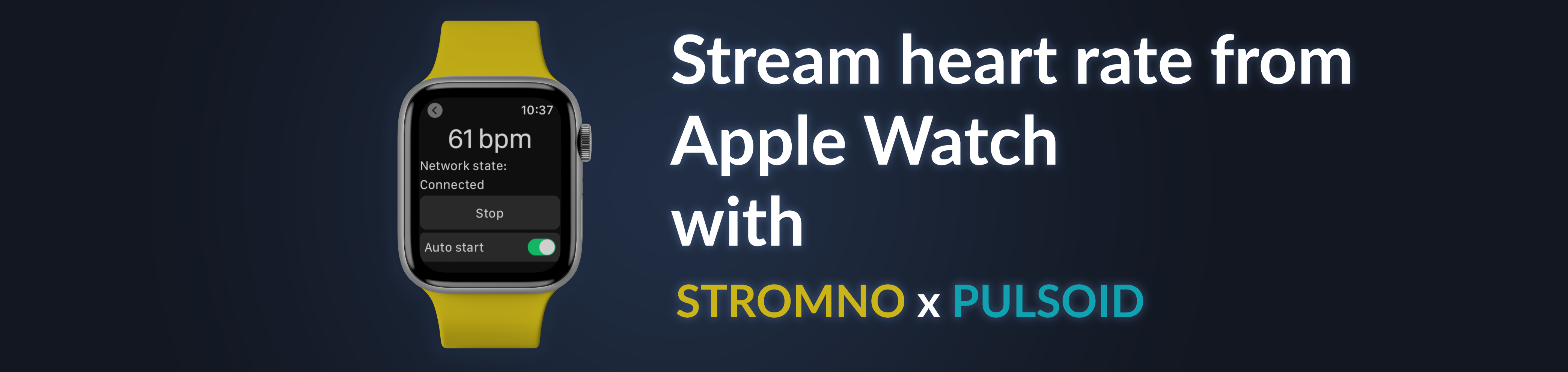 Stream Heart Rate from Apple Watch